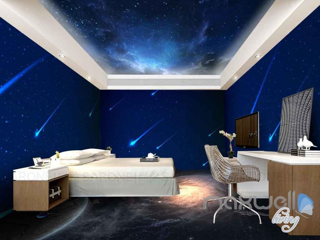 3d Nubela Comet Universe Entire Room Wallpaper Wall Murals Art