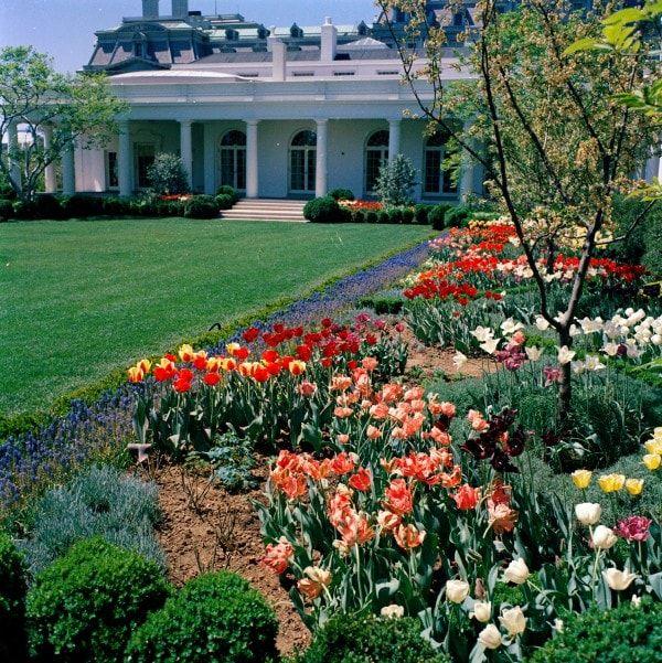 White House Rose Garden Tour White House Announces 2011