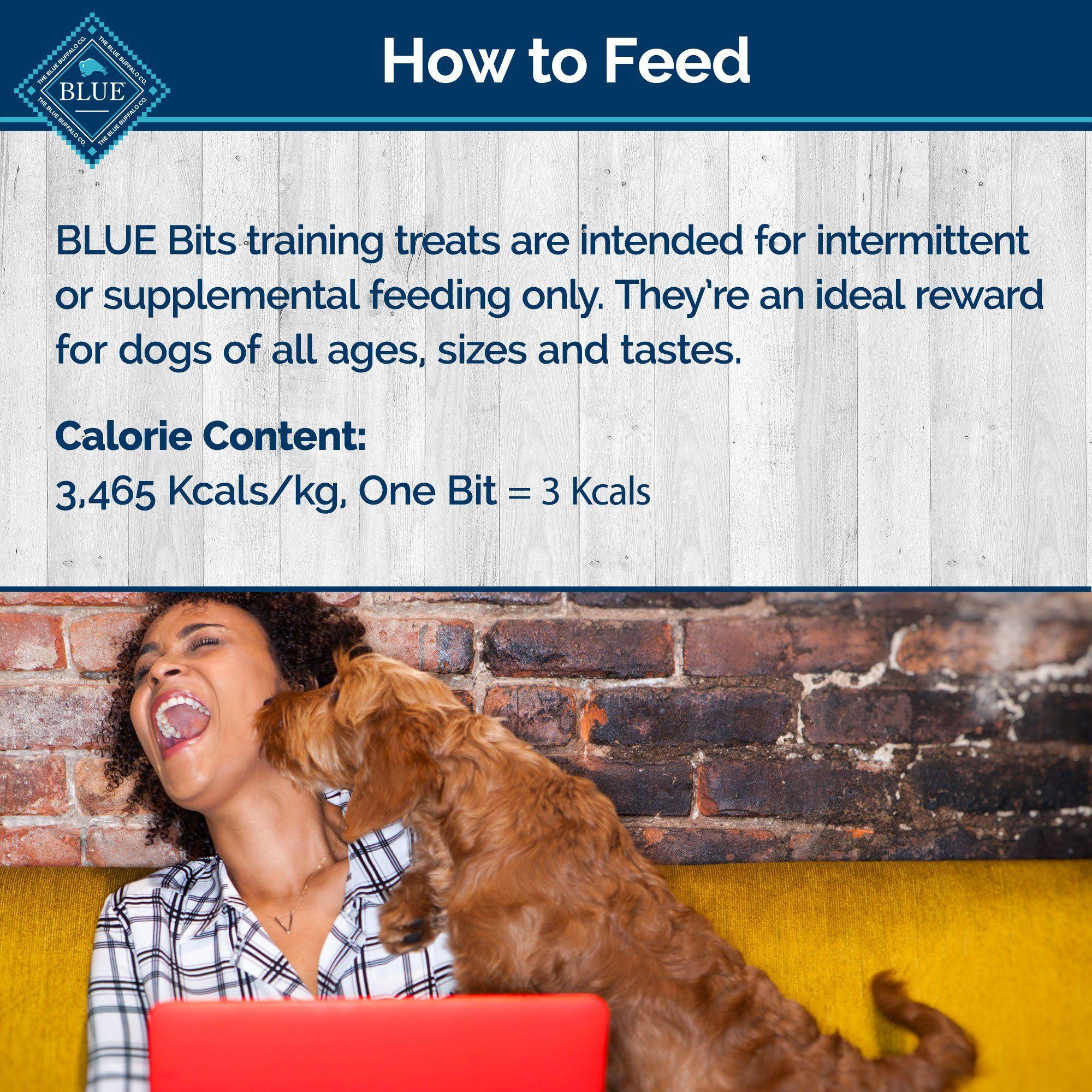 Blue Buffalo Blue Bits Blueberry Yogurt Crunchy Training Dog