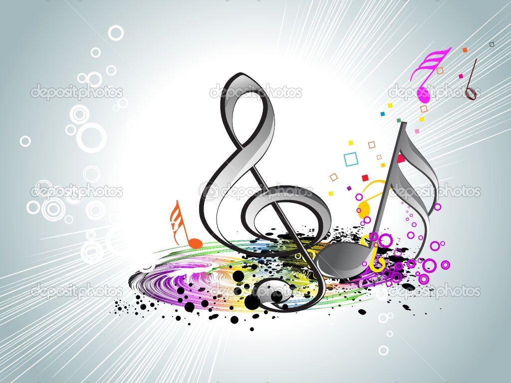 Colorful Music Desktop Backgrounds Colorful Music Notes