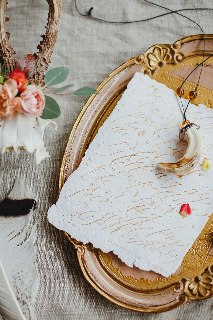 Boho style bride's morning inspirational photo shoot