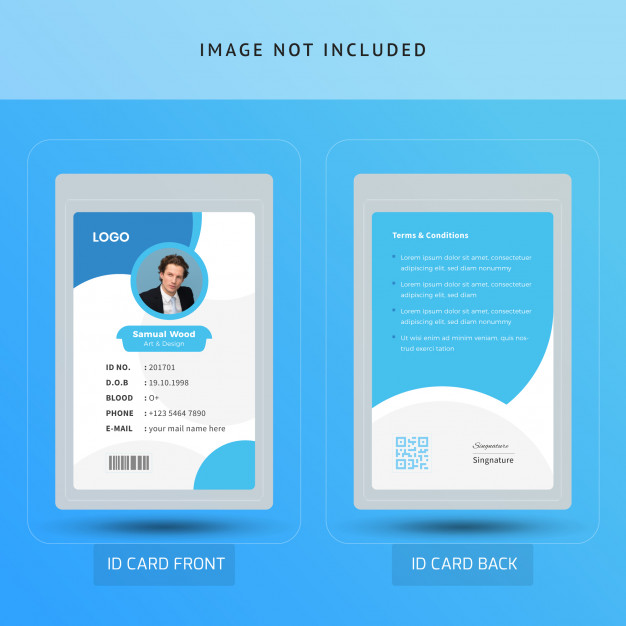 Office Chairman Or Ceo Id Card Cards Business Card Template Creative Logo