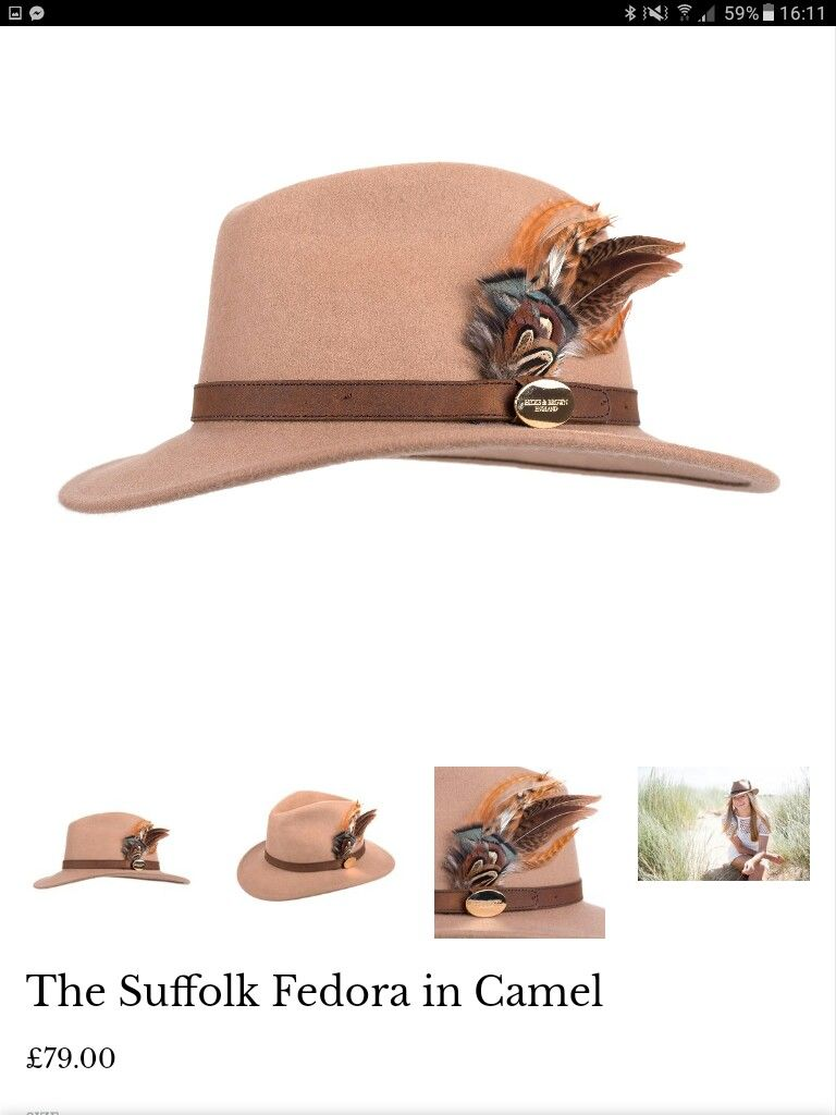 a04a6876bce I so do need to get a camel fedora. Hicks   Brown are wonderful with ...
