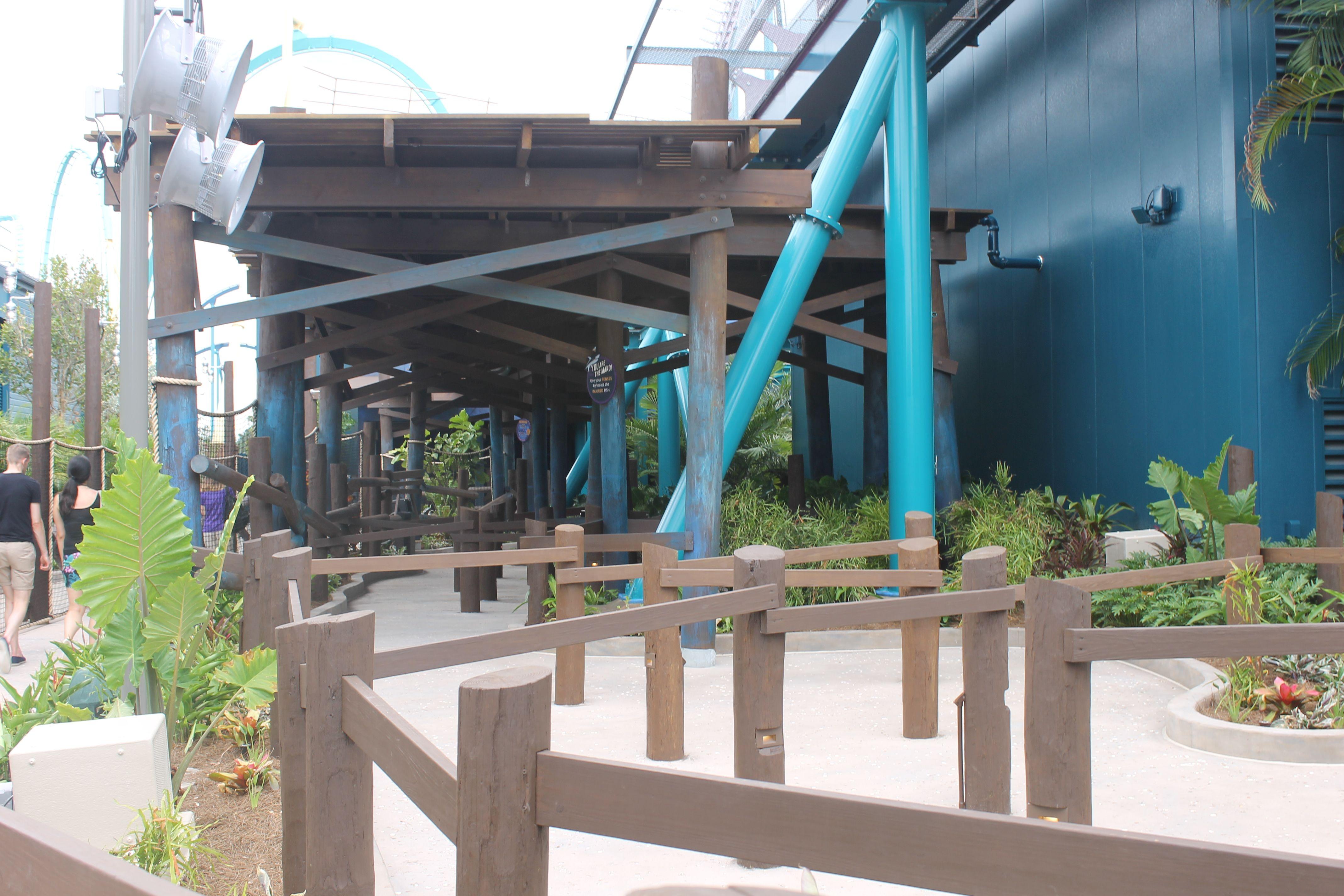 Mako queue area