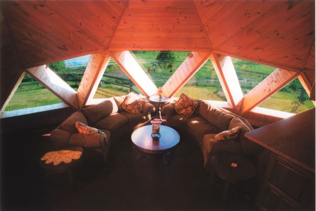 Interior Photo Triangle Skylights Dome Dome House