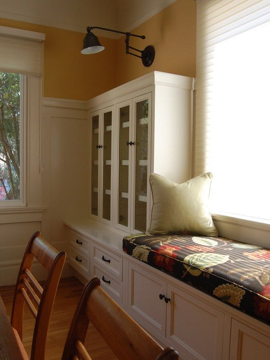 Dining Room Built In Bench In Kitchen Design, Pictures, Remodel, Decor and Ideas - page 5