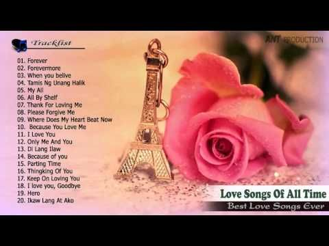 Nonstop greatest english love songs hits playlist ♪ღ