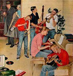 jeanne mammen art   ILLUSTRATOR - JOHN PHILIP FALTER on Pinterest   Saturday Evening Post ...
