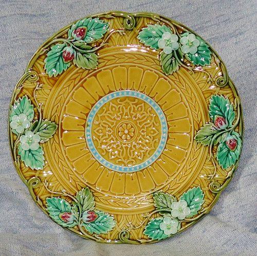 Rare Old Majolica Patterns