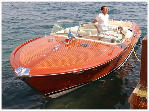 Paseo Romantico Por El Lago Wooden Speed BoatsPower