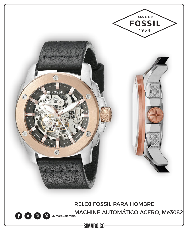 Reloj fossil para hombre me goozawxp