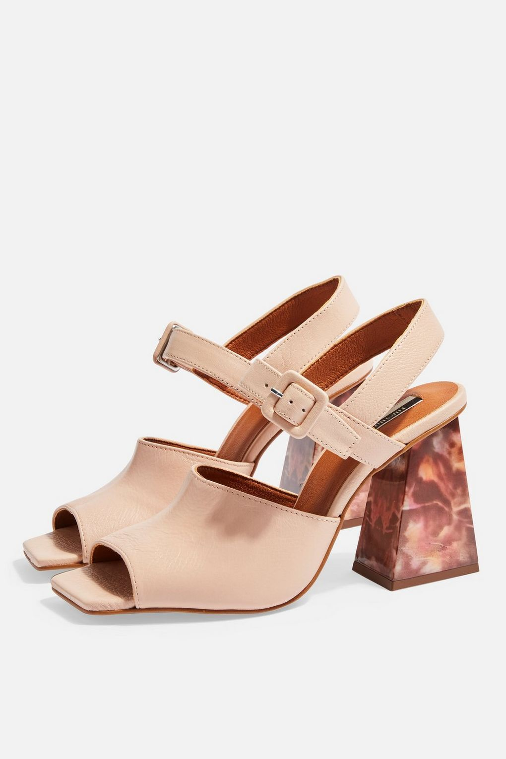 141597627b ROSE Marble Heeled Sandals in 2019 | Spring / Summer 2019 | Heels ...