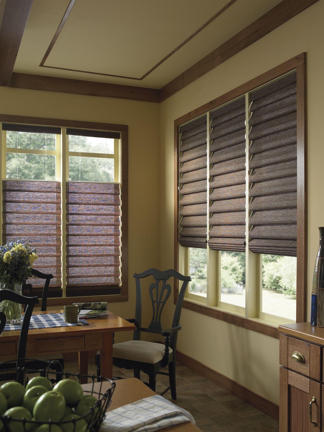 Shade Works Window Fashions 3 Decorative Solar Roman