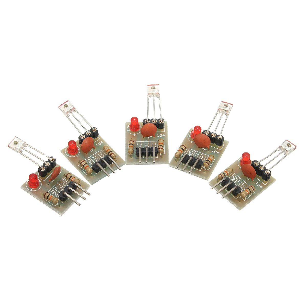 5pcs 5v high level laser receiver sensor module non modulator tube rh pinterest com