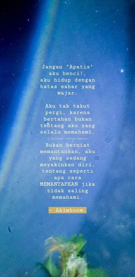 59 Ideas Quotes Indonesia Sabar For 2019