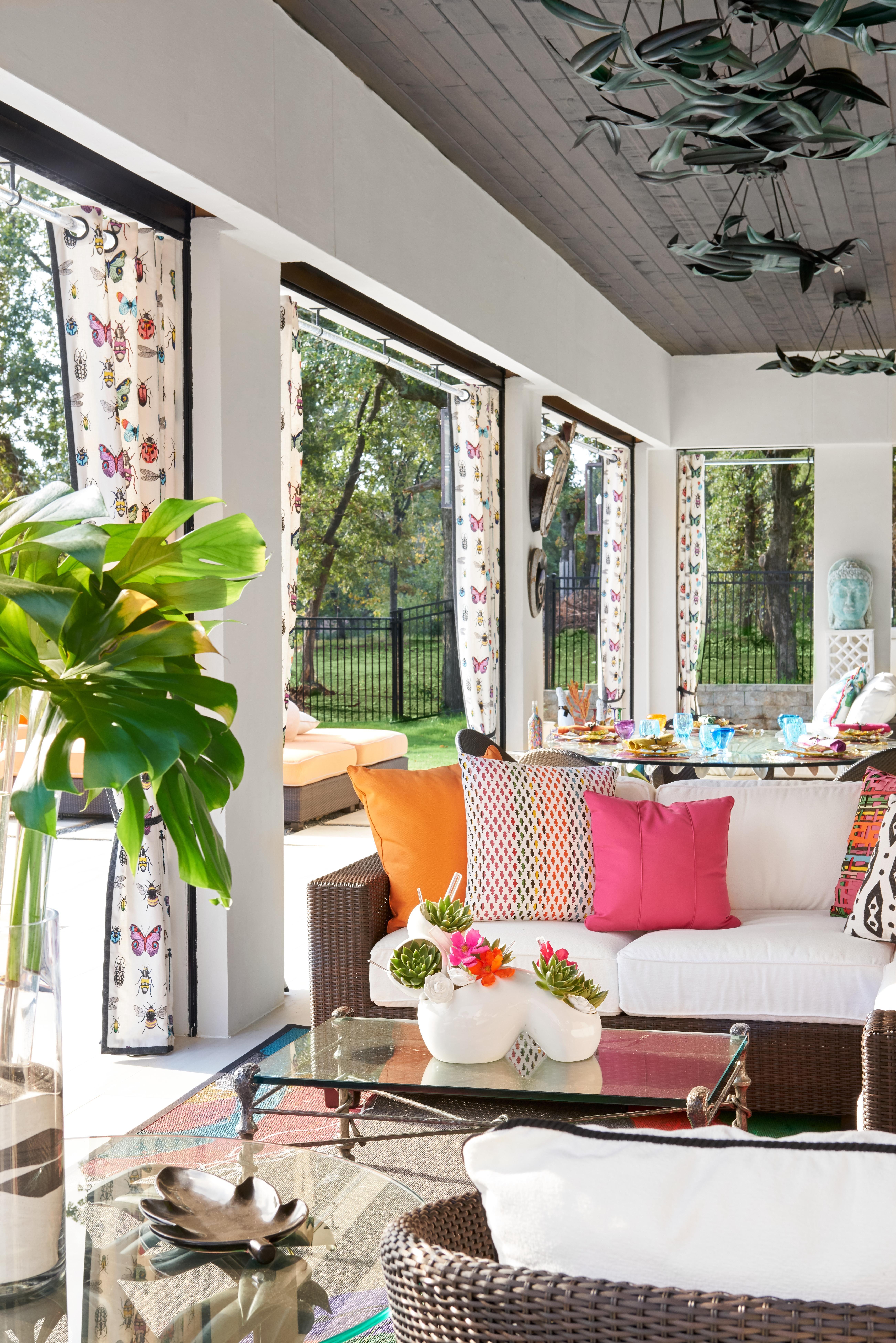 Colorful Backyard Decorating Ideas Apartment Patio Decor Colorful Patio Decor Colorful Patio