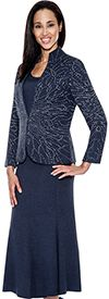 Womens Knit Suits Todd and Olivia TD94383