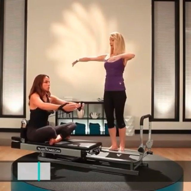 10 Moves On The Pilates Chair: Sculpt And Tone Your Arms With These #Pilates Moves In