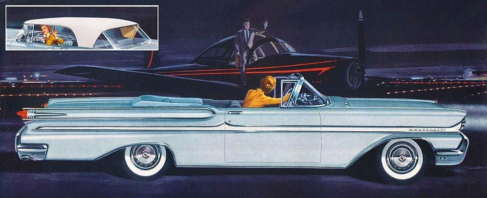 1958 mercury montclair convertible with images best