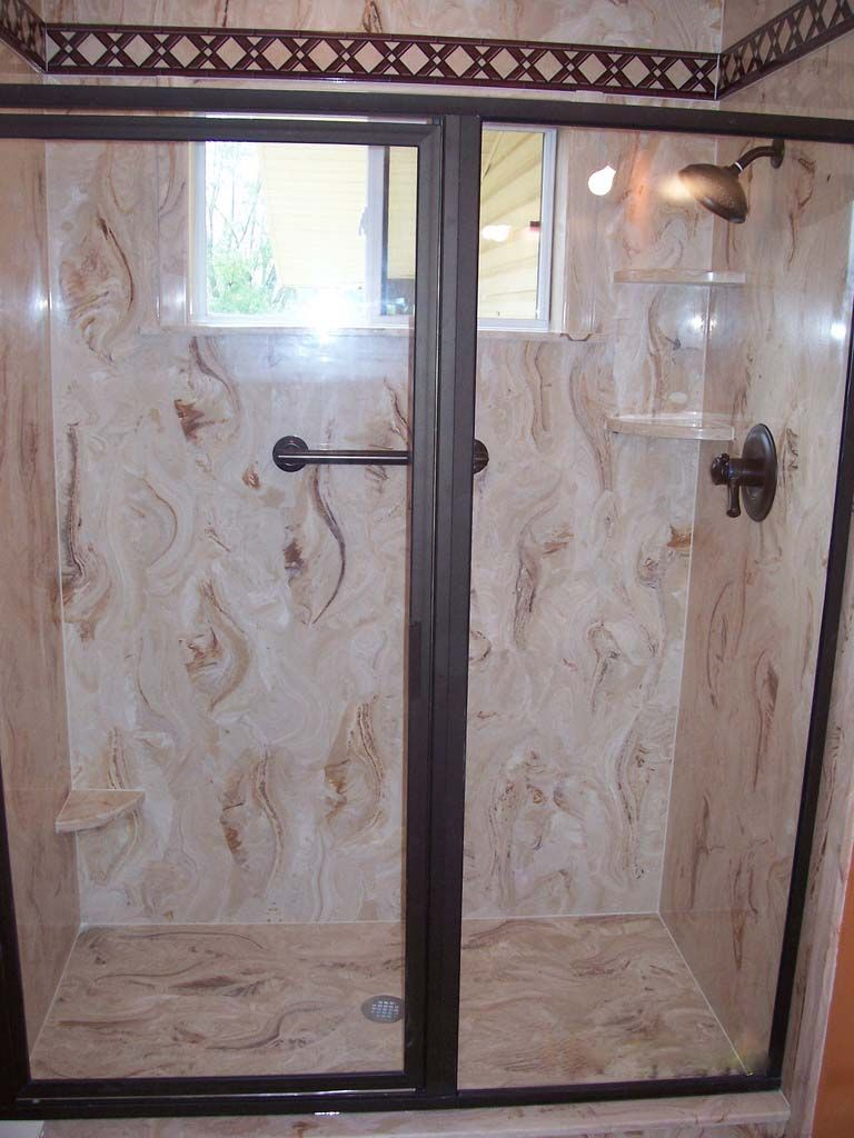 Cultured Marble Shower Walls | We Will Custom Build Your Shower Walls Based  On Your Specifications