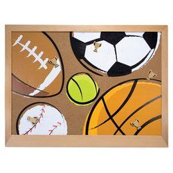 Melissa  Doug Deluxe AllStar Sports Cork Board *** Click image for more details.Note:It is affiliate link to Amazon.