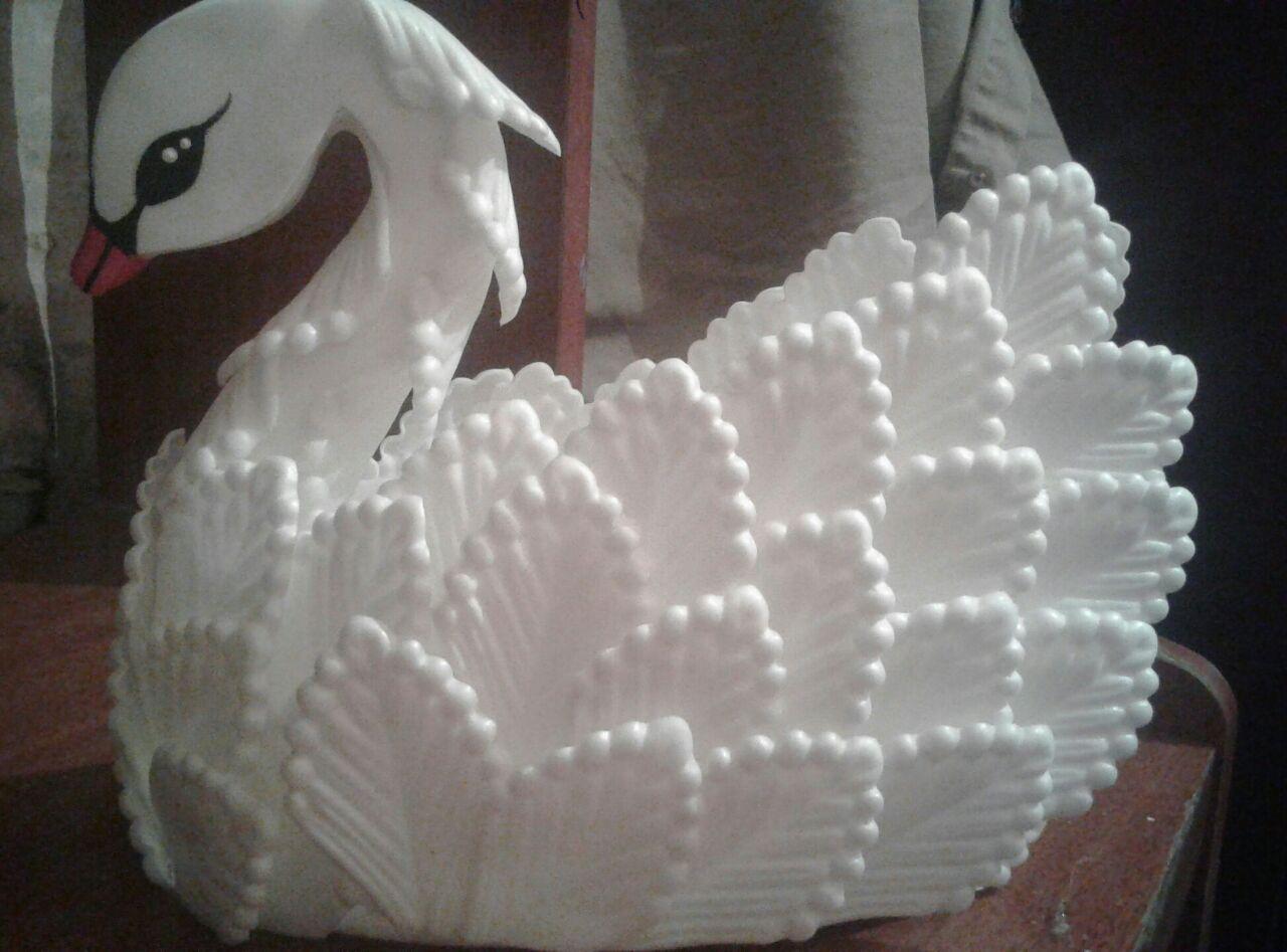 """Brillo Rosa Con Punta De plumas blanco 4-6/"""" Ideal Para Bodas Manualidades dreamcatchers"""