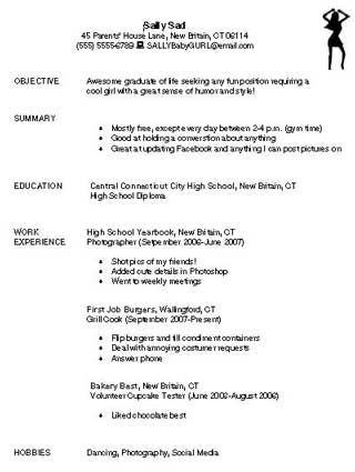Education World Bad Resume  Classroom Ideas    Sample
