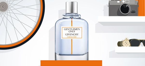 Gentlemen Only Casual Chic, o novo perfume de Givenchy Parfums