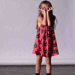 Minti Meadow Dress- Heroes Watermelon – Kiddy Couture