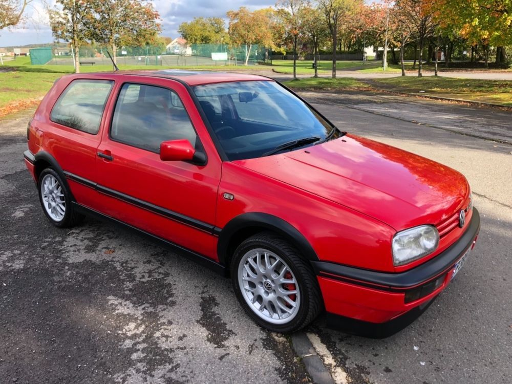 Vw Golf Mk3 2 0 Gti 8 Valve Anniversary 2 Former Keepers Very