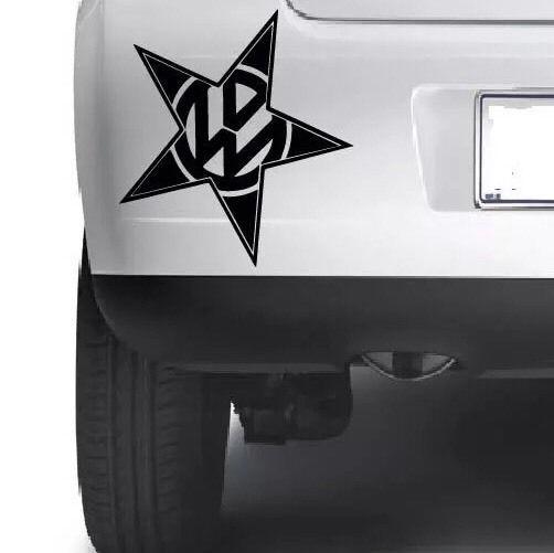 Vw volkswagen logo star car window bumper wall xbox laptop vinyl decal sticker ebay