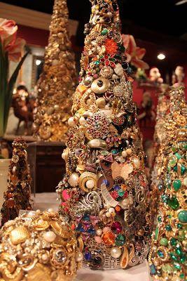 Margaret Larkin Jewlery Tree Jewelry Christmas Tree Christmas Tree Art Christmas Frames