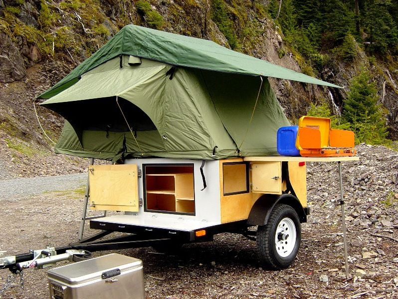 find this pin and more on camping trailers how to build - Tiny Camping Trailers