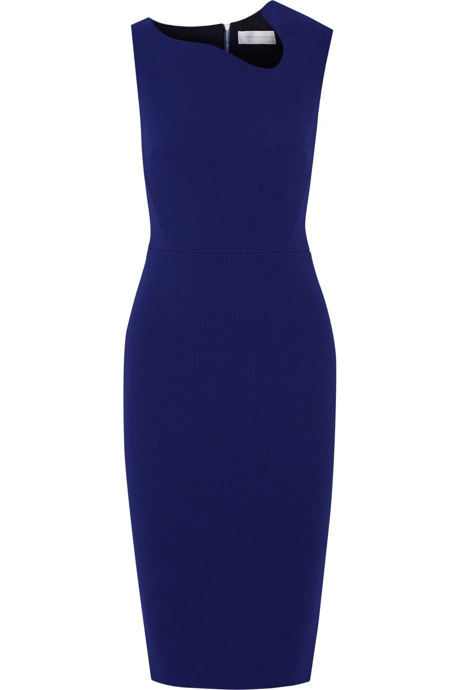 Victoria Beckham Crepe Dress Victoria Beckham Clothing Line Victoria Beckham Dress Crepe Dress [ 1380 x 920 Pixel ]