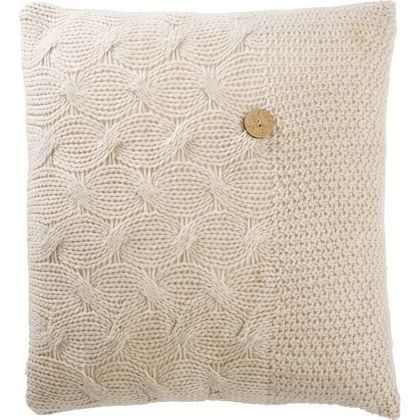 Home Of Style - Islay Cushion Beige 43 x 43cm at Homebase -- Be inspired and make your house a home. Buy now.