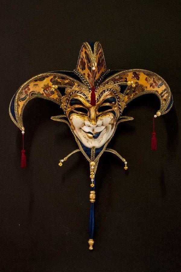 Joker della Serenissima Maschera Veneziana Originale Artigianale Fatta A Venezia   eBay