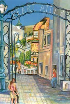 Pearl Alley, Downtown Santa Cruz