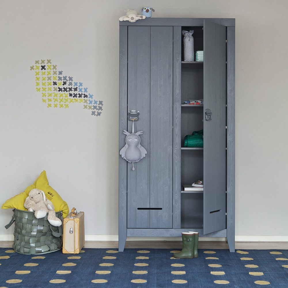 KLUIS LOCKER CABINET In Steel Grey