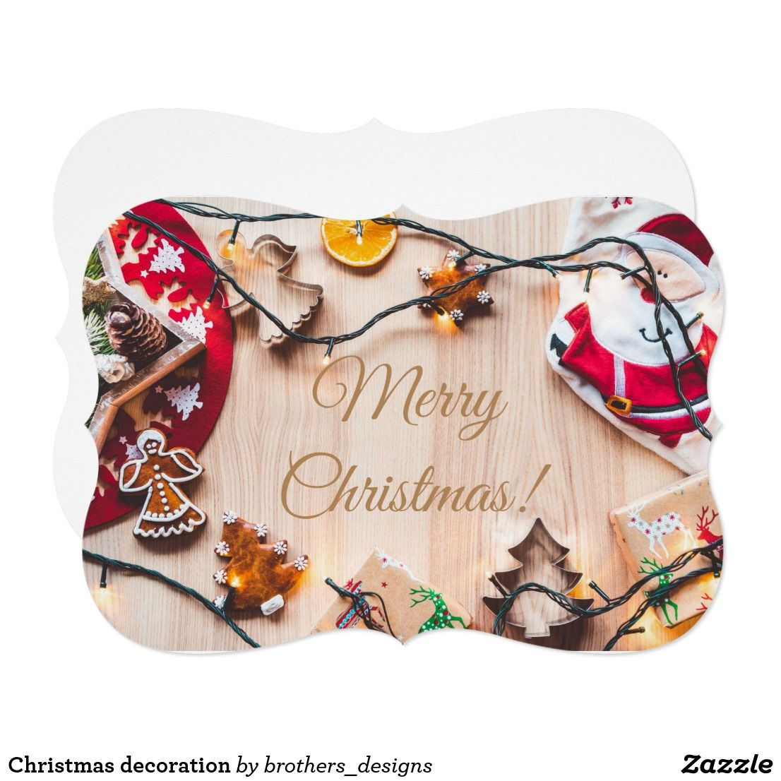 Christmas Decoration Card (With Images)