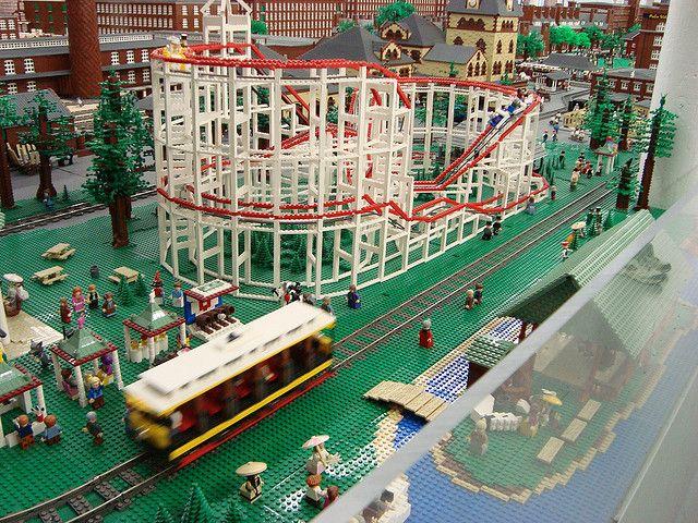 Roller Coaster A Go Go In Old Lego Manchester Roller