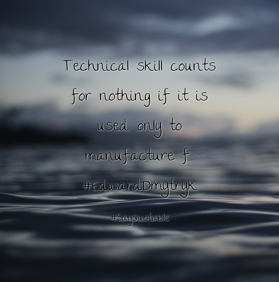 F Stock Quote Quotes About Technical Skill Counts For Nothing If It Is Used Only