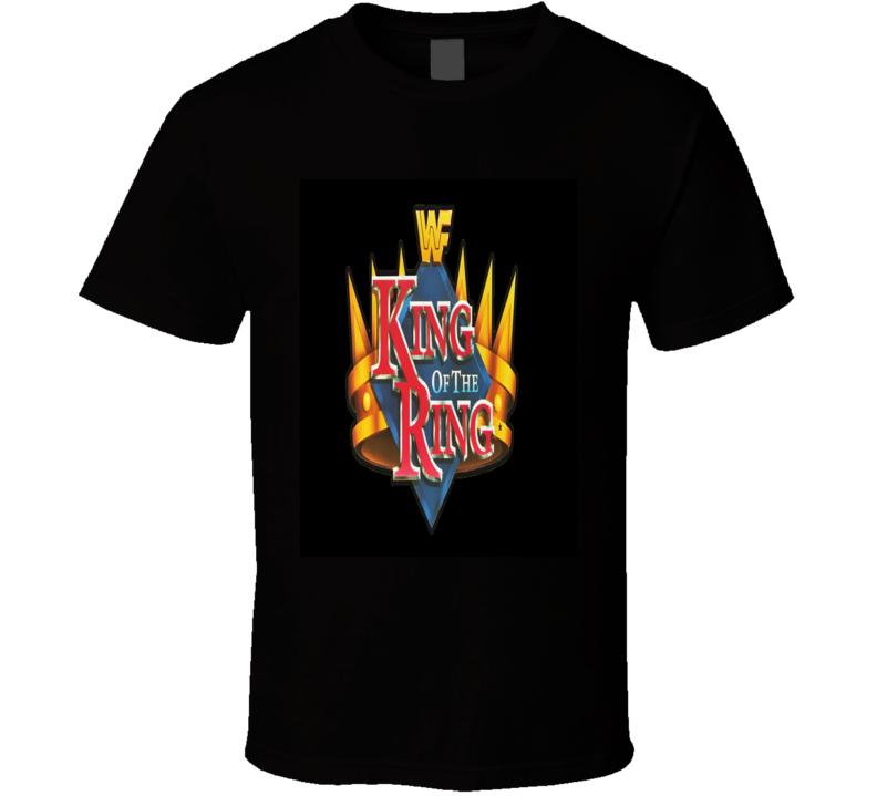 King Of The Ring Wwf Wrestling Event Classic Retro T Shirt Retro Tshirt T Shirt Shirts