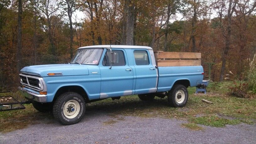 This My 72 F250 Crew Cab Ford Pickup Trucks 79 Ford Truck Ford