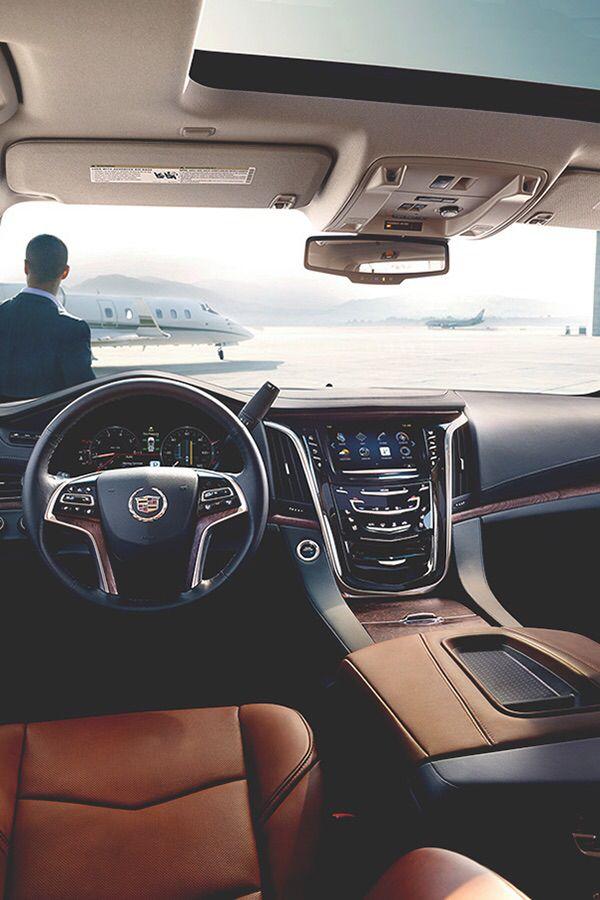 Cadillac Escalade Interior Luxury X Exotic Autos Pinterest
