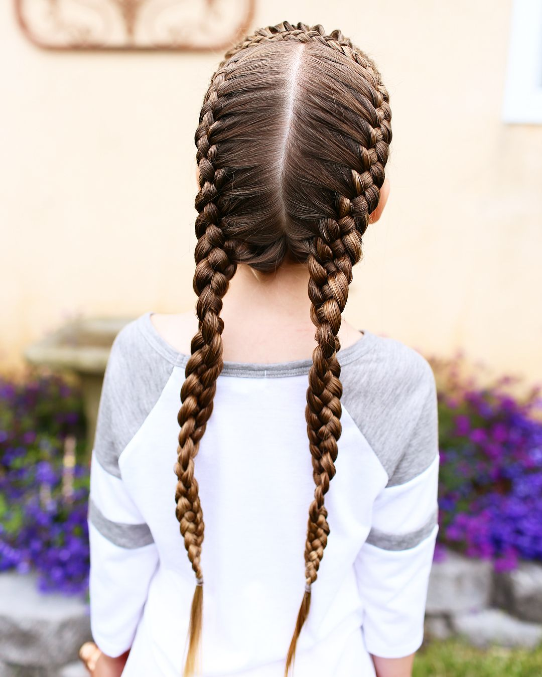 I M In Love With This Braid It S French Four Strand Braids For Some Reason They Want To Curl Up Check Out The Last Four Strand Braids Kids Hairstyles Hair