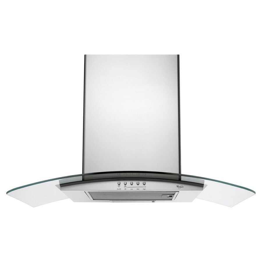 Whirlpool Gold 30 In Wall Mounted Range Hood Stainless Item 331970 Model Gxw6530dxs 12 Reviews Stainless Range Hood Glass Range Hood Range Hood