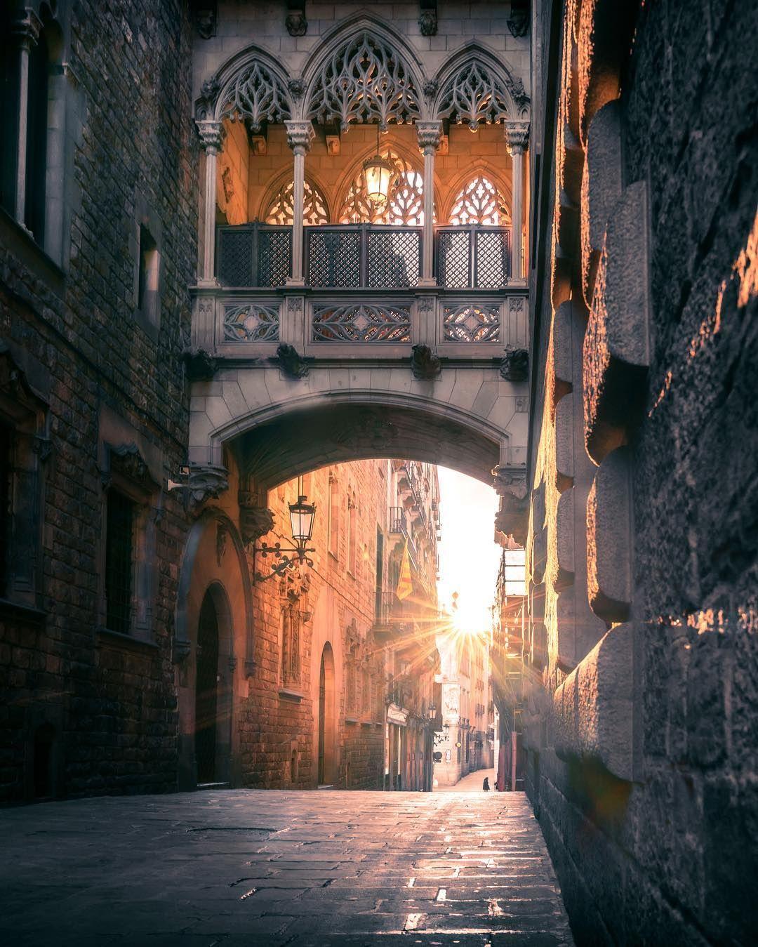 Gothic Quarter Barcelonaspain