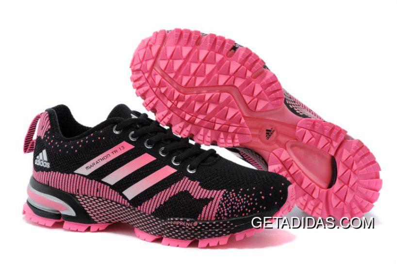 Classic Adidas Marathon TR 10 Black Blue White Mens Running