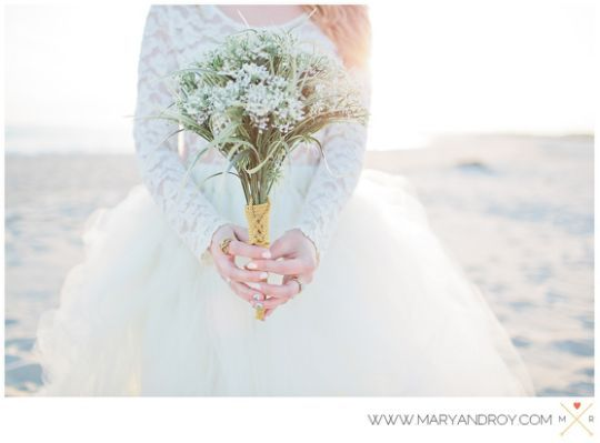 Boho Beach Wedding Styled Bridal