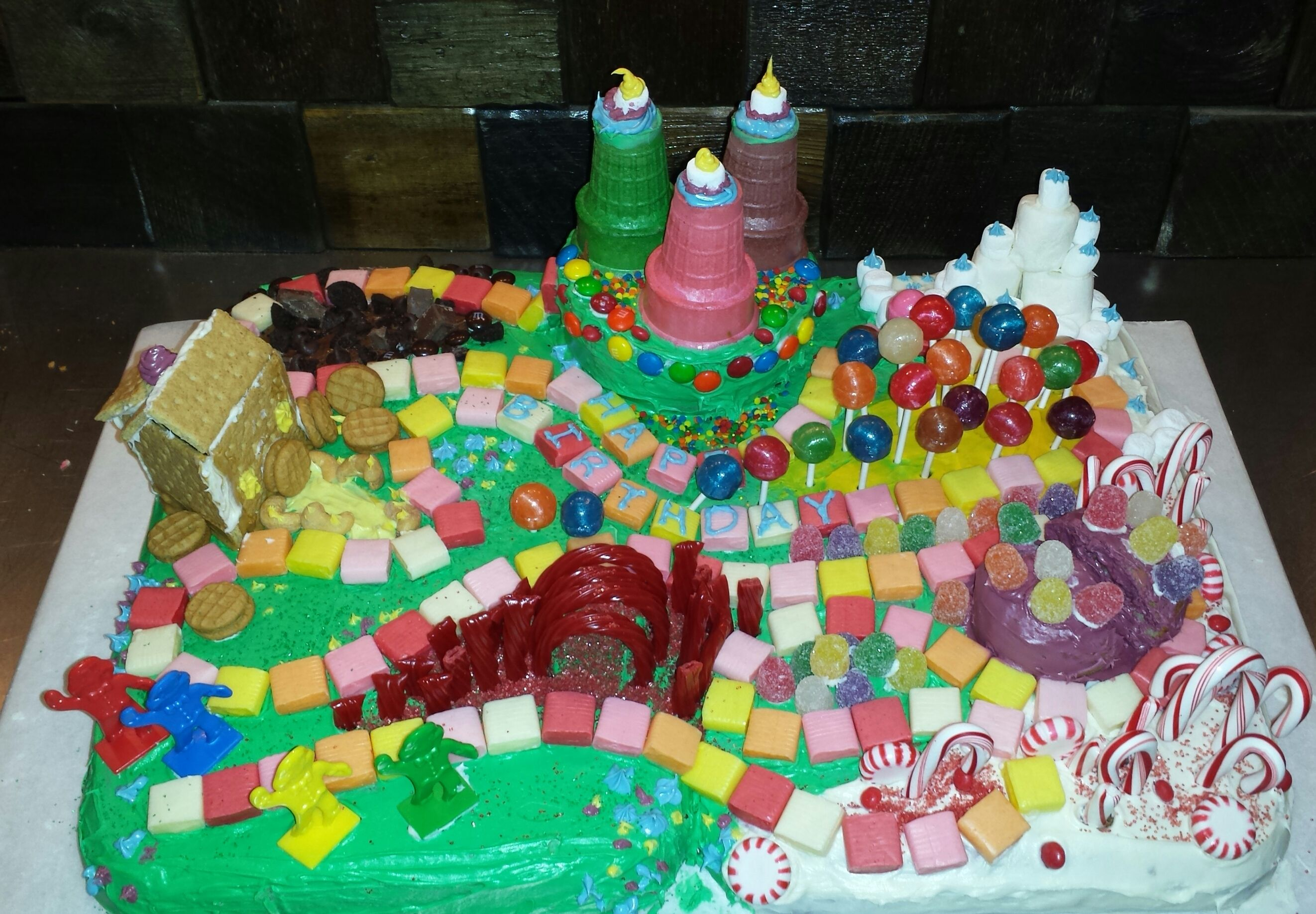 Astonishing I Was Asked To Make A Birthday Cake For The 6 Year Old Girl I Funny Birthday Cards Online Unhofree Goldxyz